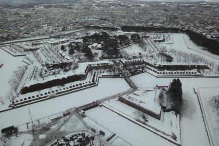 Le Fort Goryokaku à Hakodate