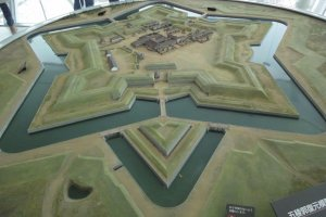 Goryokaku Fort Model