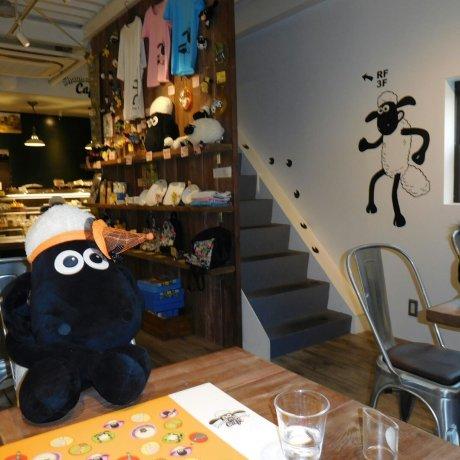 Shaun the Sheep Cafe Tokyo