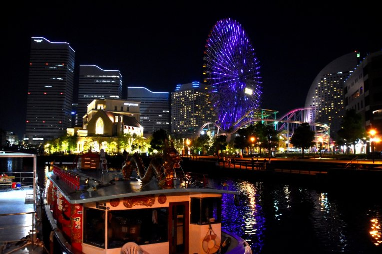 横浜ベイサイド・ナイトウォーク