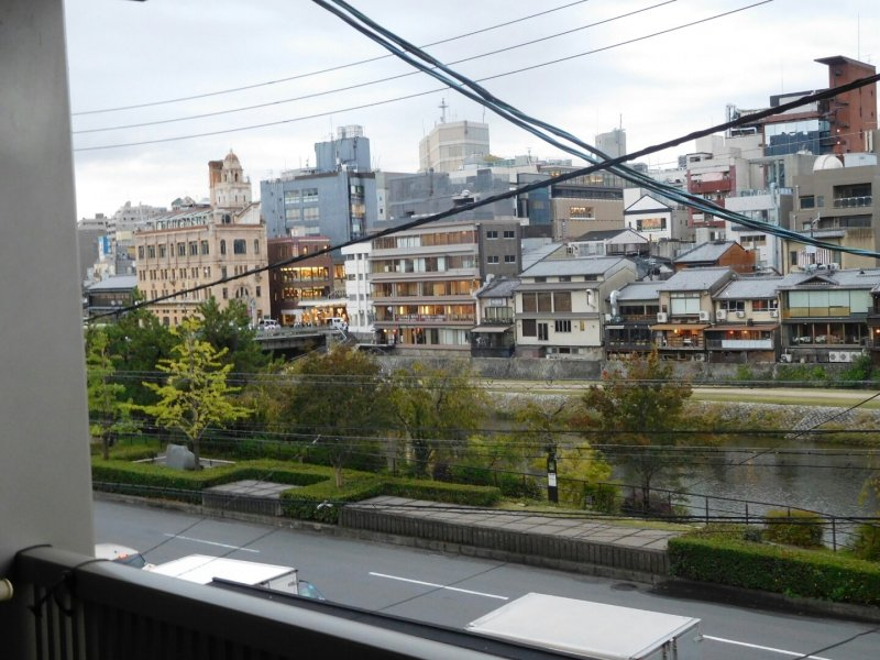 Location, Location, Location- the view from JAM Hostel