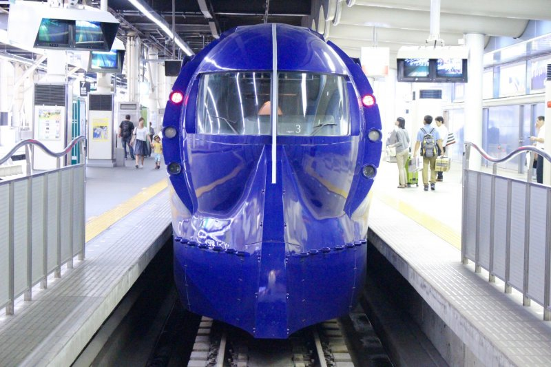 The Nankai Ltd. Express Rapit: Namba to Kansai Airport in 35 minutes!