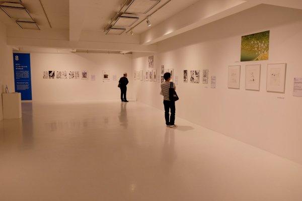 Nhiều tác phẩm trưng bày