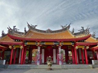 孔子廟の美しい儀門