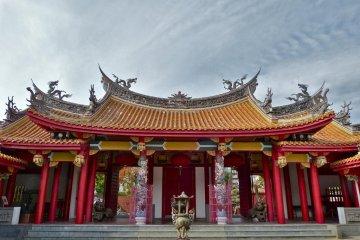 The beautiful gate of the Mausoleum