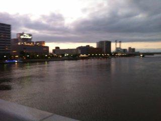 Vue depuis le Bandai Bridge