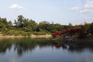 타카마쓰 리쓰린코엔 정원