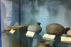 Archaeological exhibits