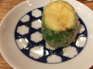 Zukkini tempura