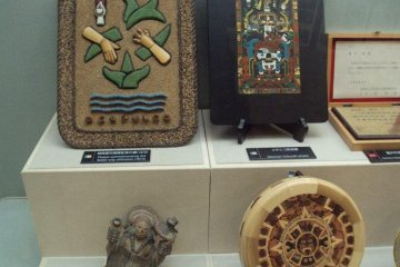 <p>Gifts from sister cities are on display.</p>