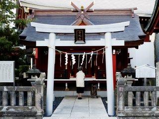 Người Tokyo đến đây để cầu cho sự thành công trong công việc và sức khỏe tốt