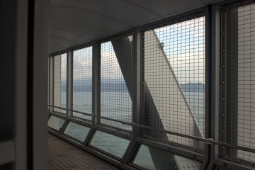 The Uzu no Michi walkway goes directly over the whirlpools. A ticket, 510 yen for adults, can get you access for the whole day.