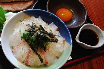 ไทเมะชิ อาหารอร่อยของเอะฮิเมะ