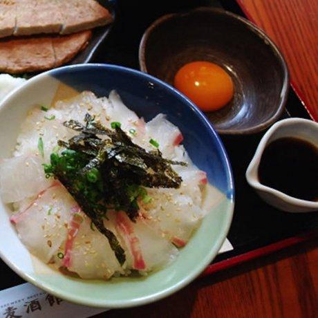 Taimeshi, an Ehime Delicacy
