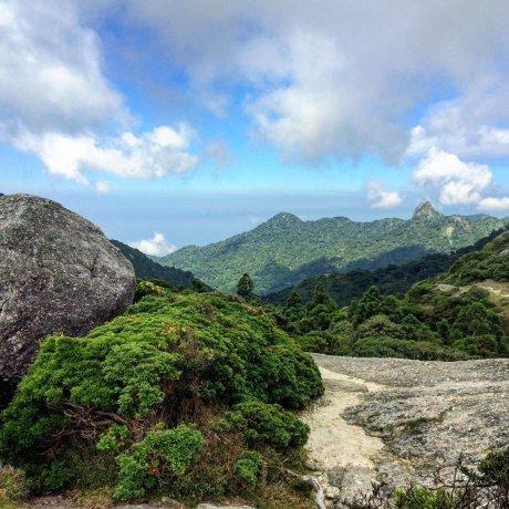 Mt. Miyanoura in Yakushima