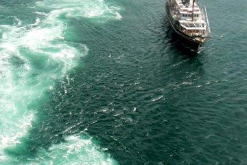 No sails on this sailing ship!