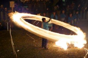 Danse du feu à Hifuri Shinji