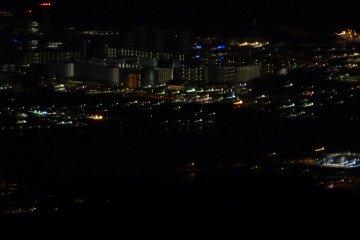 Night view from Garden Terrace