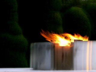The Eternal Flame monument