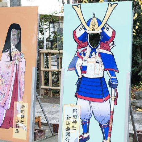 Lớp chế tác áo giáp samurai ở Tokyo