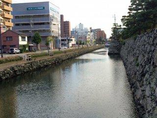 Tokushima Castle Park area.