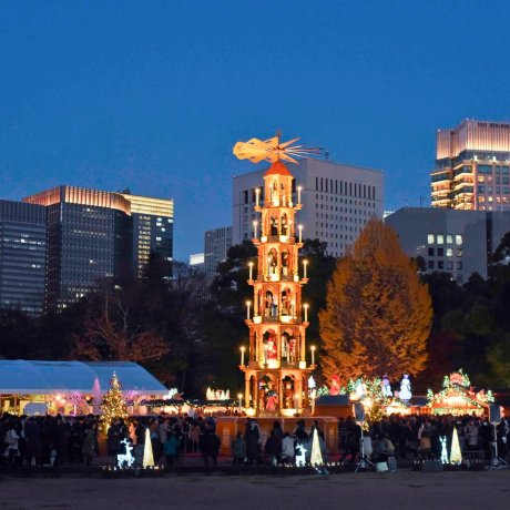 Токийский рождественский рынок