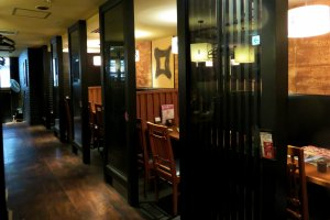 Sophisticated dining in Himeji