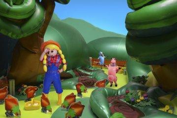 Saeborg's inflatable livestock exhibition