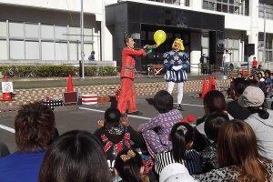 Cảnh đưa ra lời đề nghị tại Shizuoka Daidogei 2016