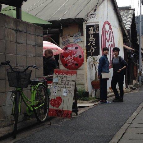 Dạo quanh Naoshima Cafe