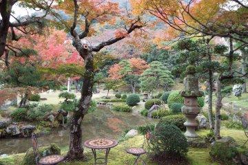 Horyuin Garden at Jinpukaku