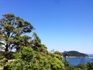 Have a champagne breakfast in Naoshima