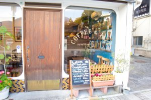 Cute cafes were everywhere!
