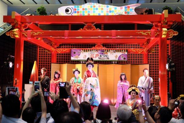 Geisha dances