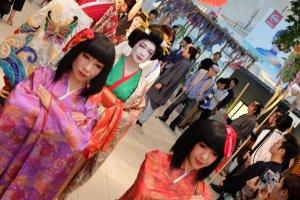 A Geisha parade