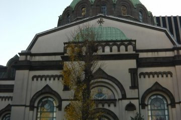 A beautiful Japanese Orthodox church