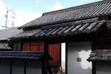 <p>The entrance to Kadoya</p>
