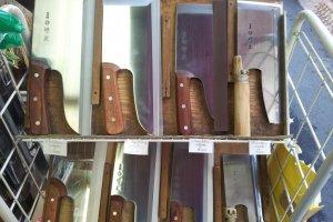 Soba (buckwheat noodles) knives