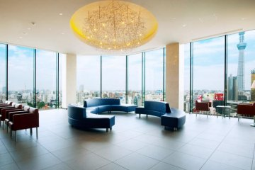 A stunning view from the lobby