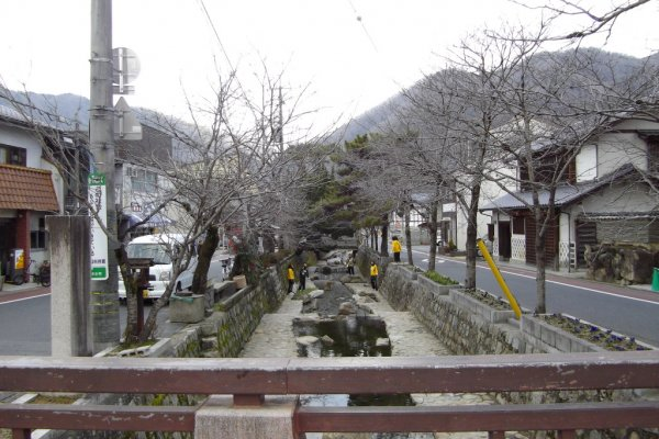 Center Canel in Takahashi City