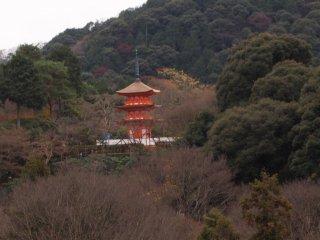 Tòa tháp ở Kiyomizudera