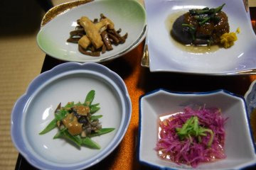 Shojin Ryori dishes look simple but they taste like nothing else