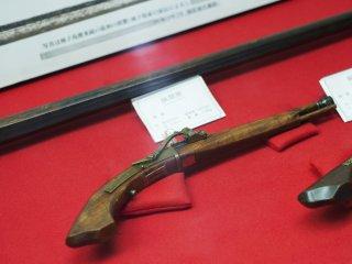 Senjata yang dipamerkan