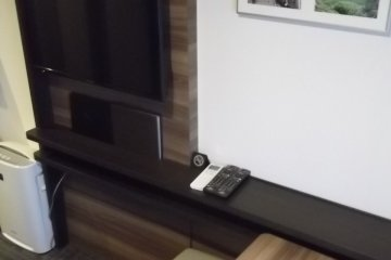 My TV and table