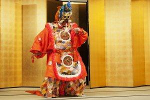 Gagaku court music show