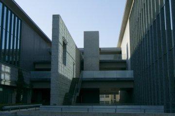 Tadao Ando's signature concrete and glass