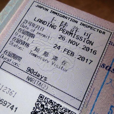 Guía de visas japonesas