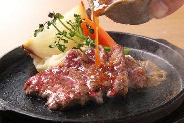 Senba Hide steak--better than beef!