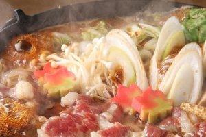 More of the sukiyaki