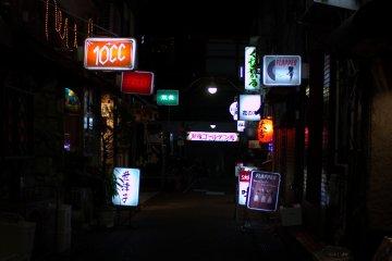 晚上的黃金街